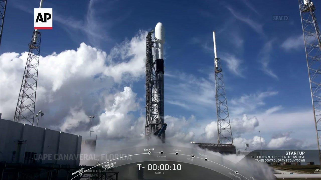 SpaceX launches nextgen satellite for SiriusXM