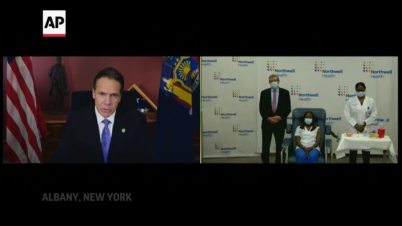 Cuomo: Vaccine is light at end of a 'long tunnel'