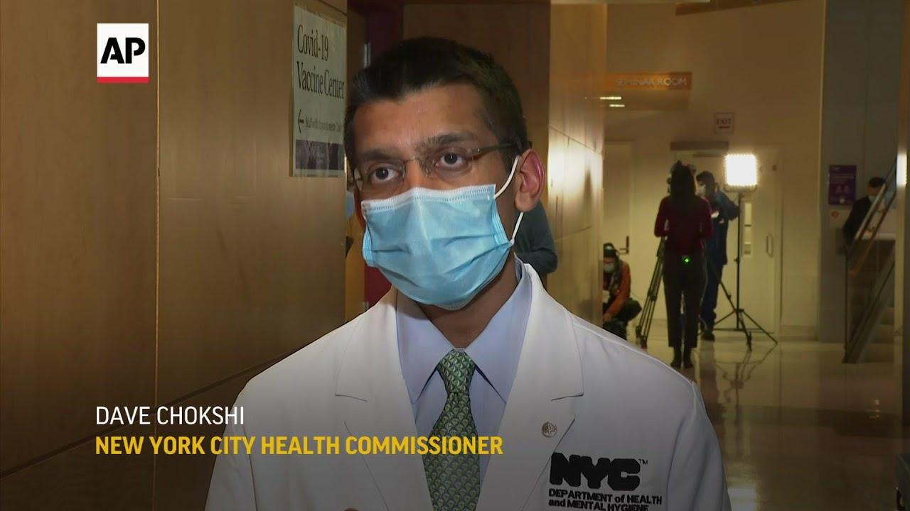 NYU Langone begins covid vaccine injections