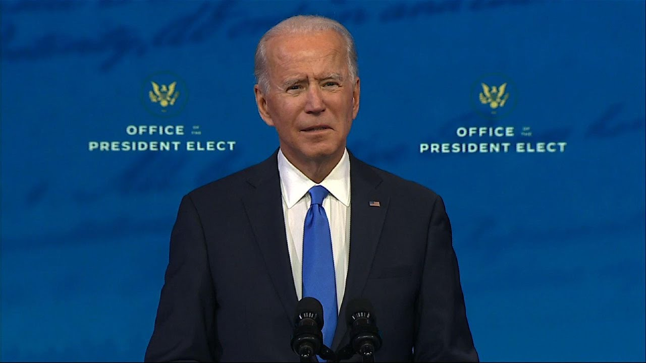 Biden: 'Now it's time to turn the page...to heal'