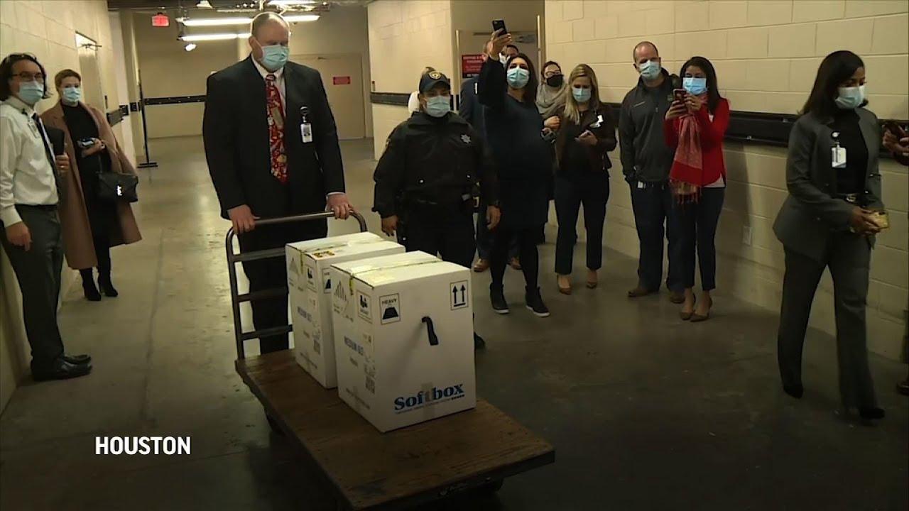 6 Houston hospitals receive coronavirus vaccine