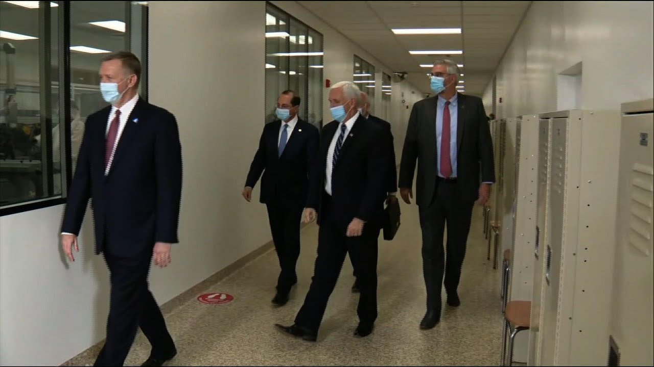 Pence looks forward to receiving COVID-19 vaccine