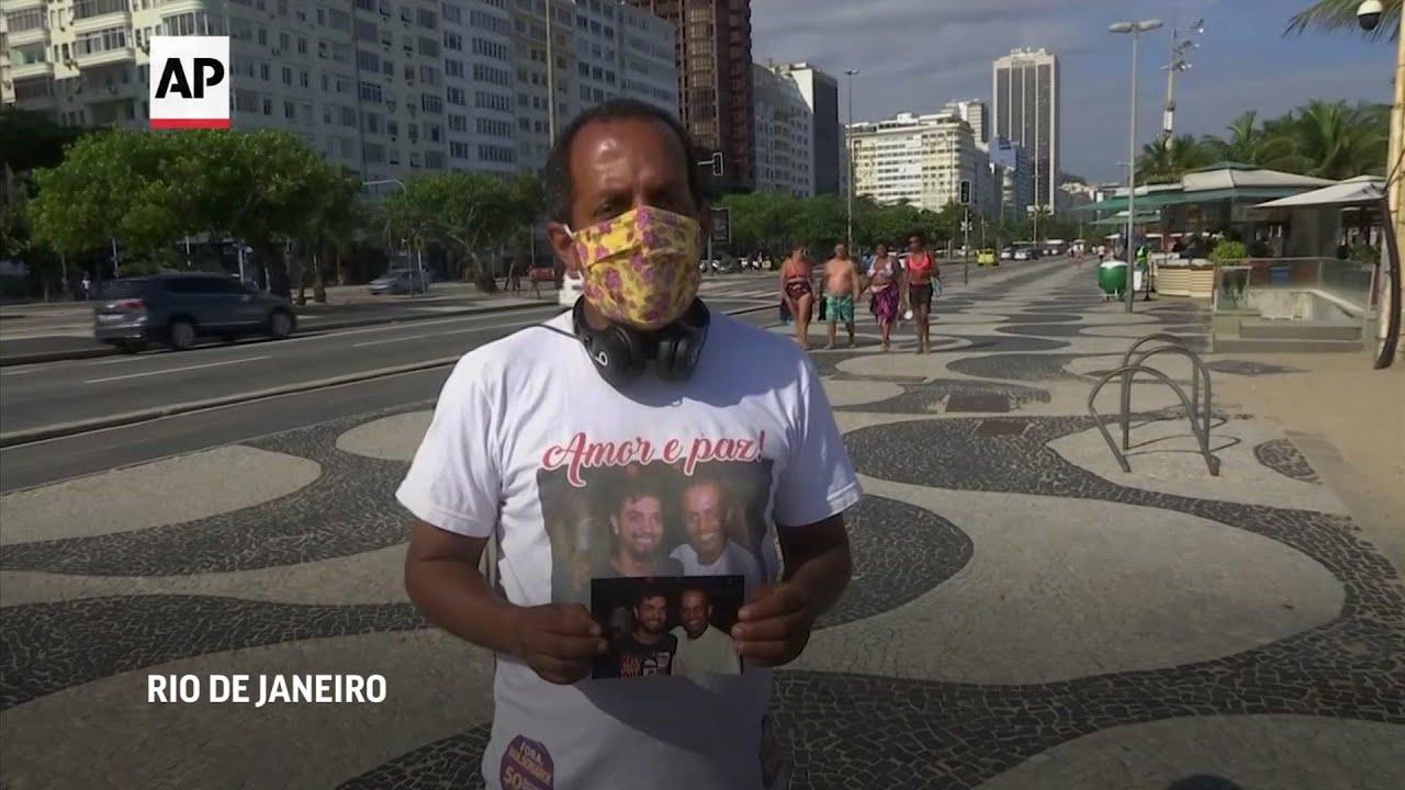 Padre de víctima de Covid-19 reclama conciencia en Brazil