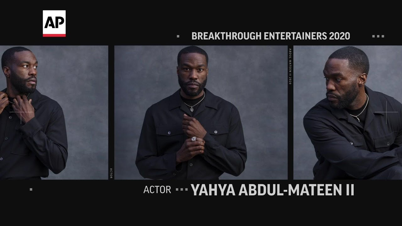 AP Breakthrough Entertainer Yahya Abdul-Mateen II is a 'dreamer'
