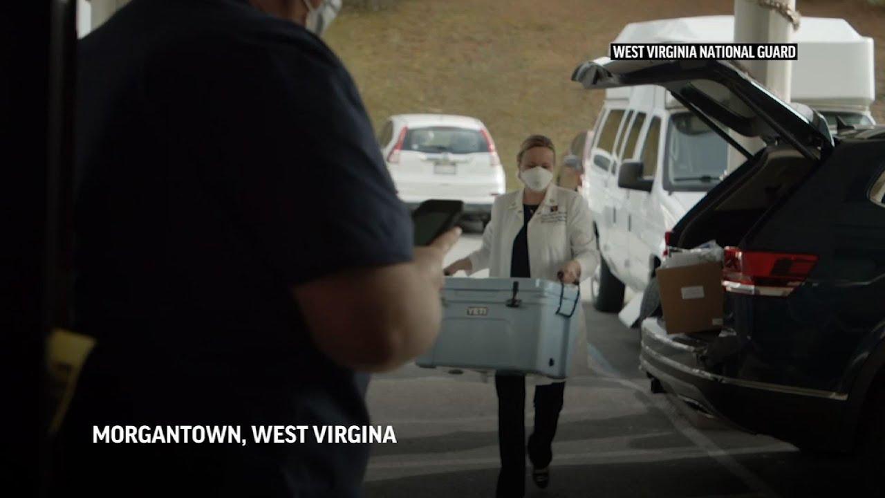 West Virginia nursing home gets COVID-19 vaccine