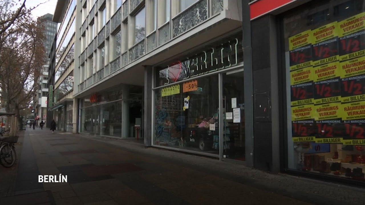 Alemania cierra tiendas y aumenta restricciones ante aumento de contagios por COVID