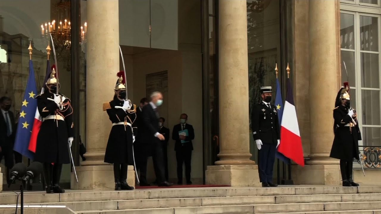 French Pres. Macron tests positive for COVID-19