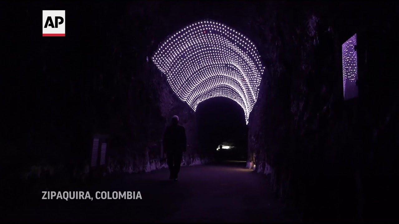 Colombia celebró el 25 aniversario de su Catedral de Sal