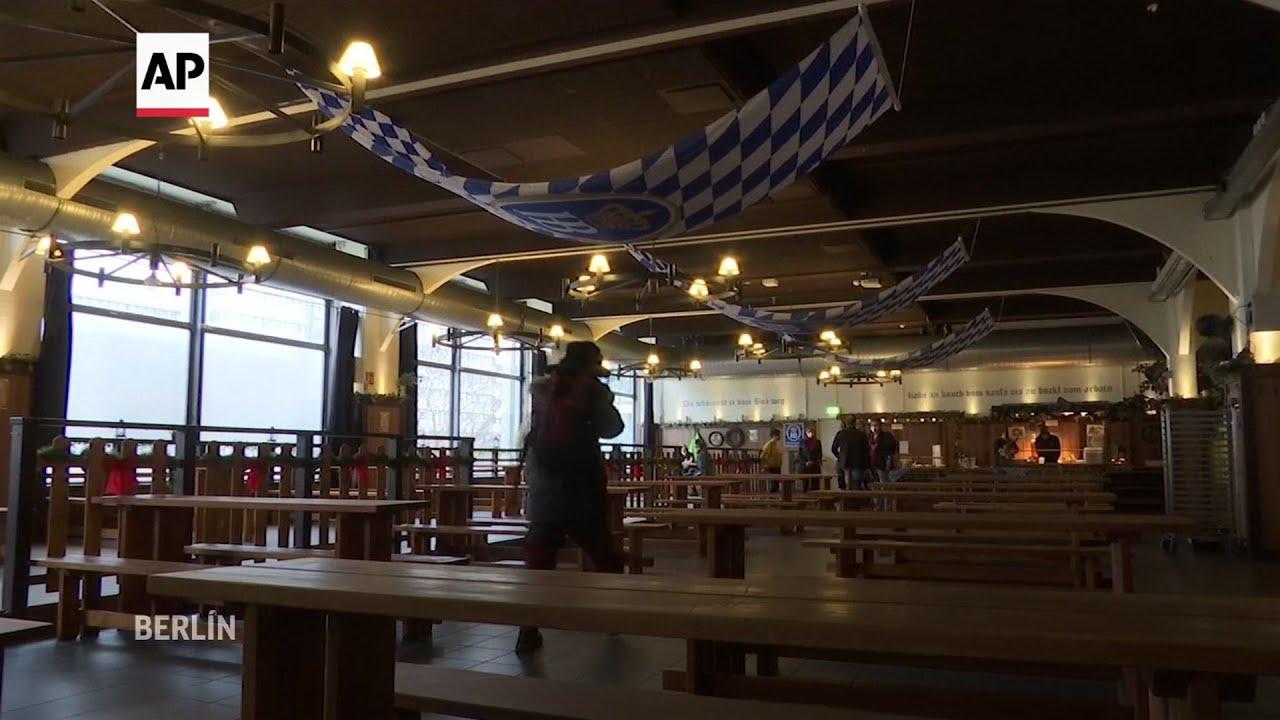 Restaurante de Berlín ofrece comida y calor a los sin techo