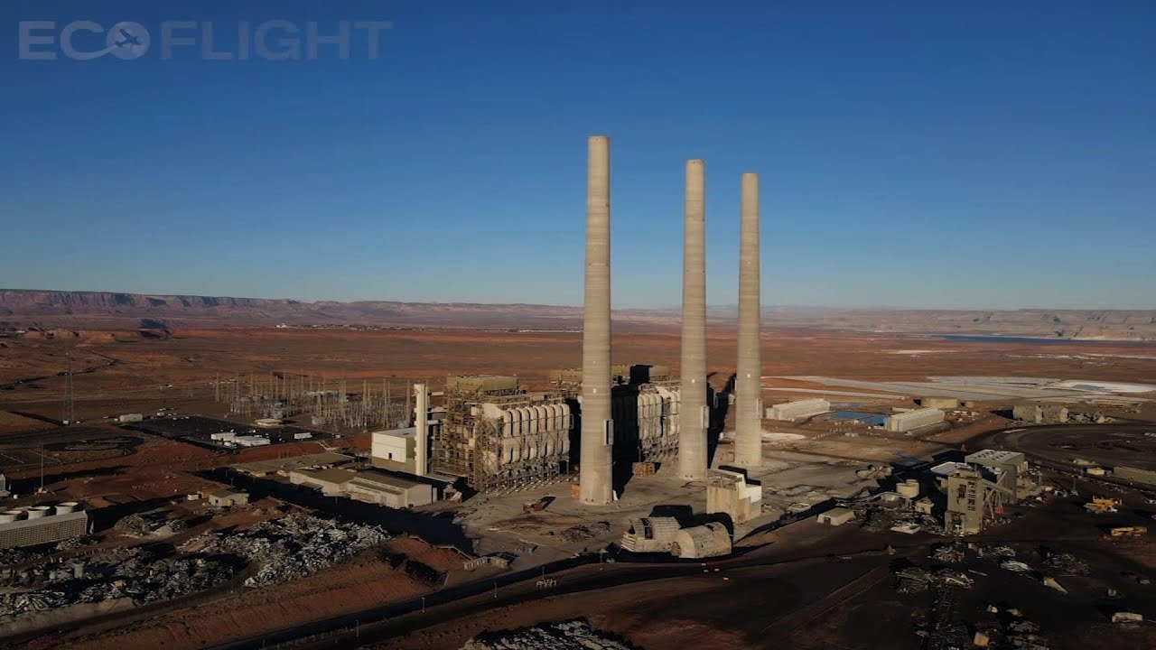 Navajo coal-fired power plant comes down in Arizona