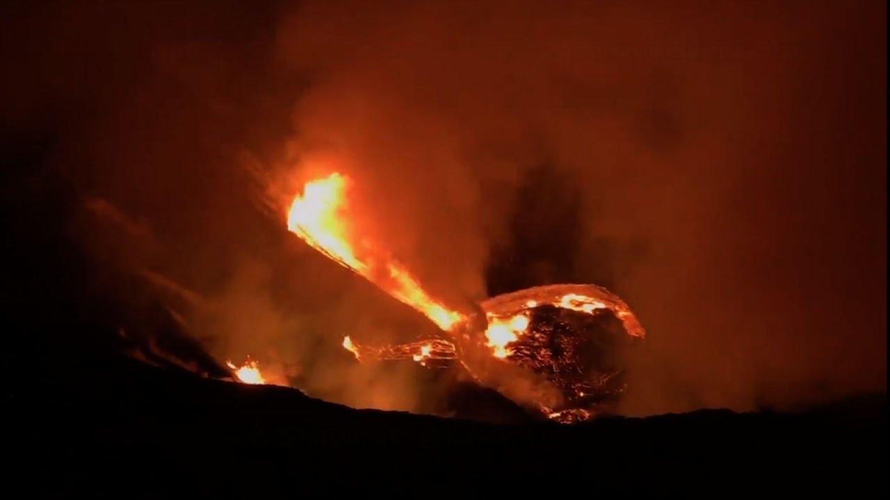 Volcano erupts on Hawaii's Big Island