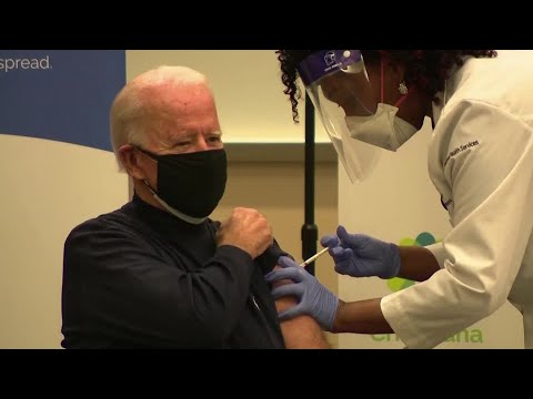 U.S. President-elect Joe Biden receives COVID-19 vaccine