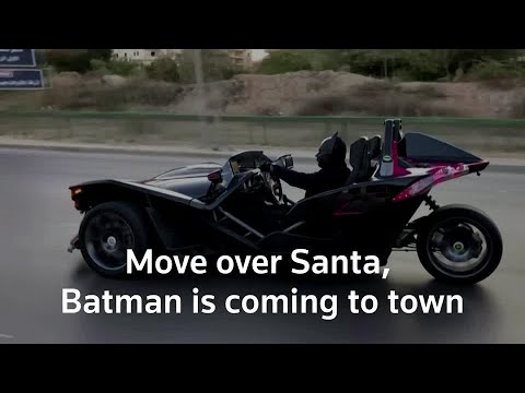 Move over Santa, Batman is coming to town