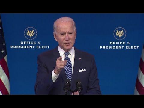 Biden faults Trump for data breach, vows response