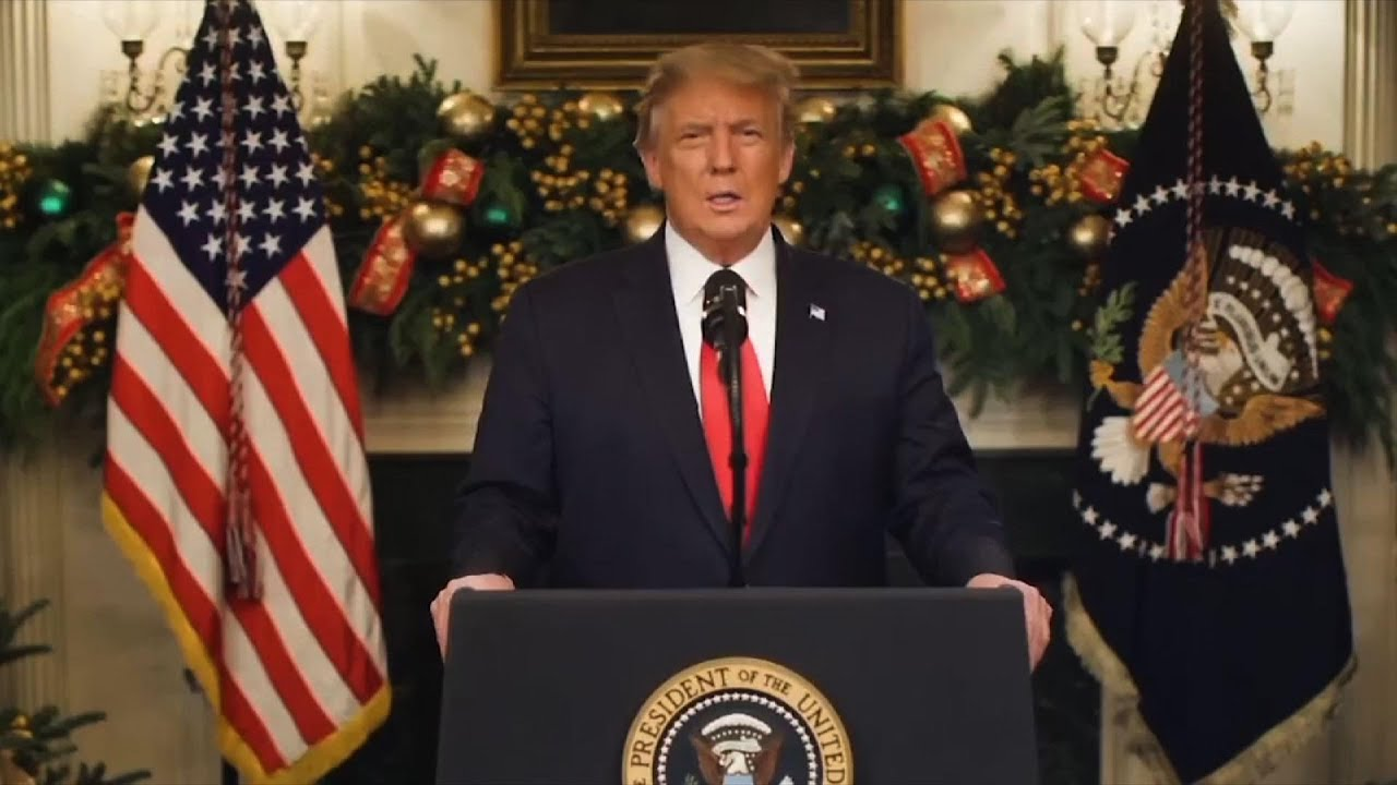 Trump suggests he might not sign COVID relief bill