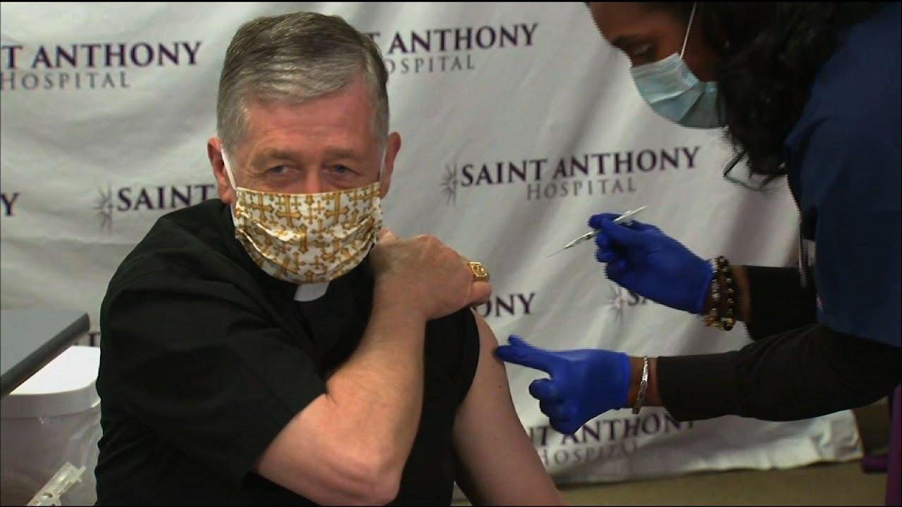 Chicago's archbishop gets virus vaccine