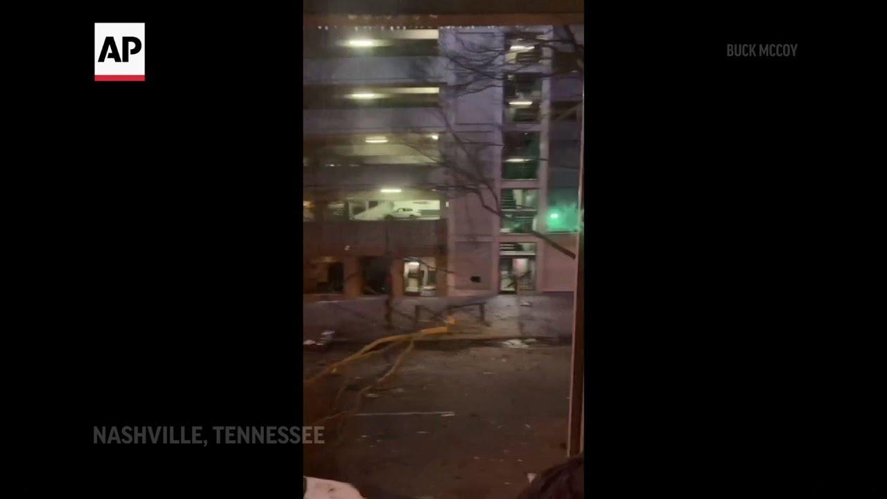 Nashville blast blows out windows, wrecks apartment