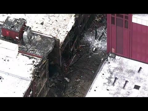 Vehicle explosion rocks Nashville on Christmas