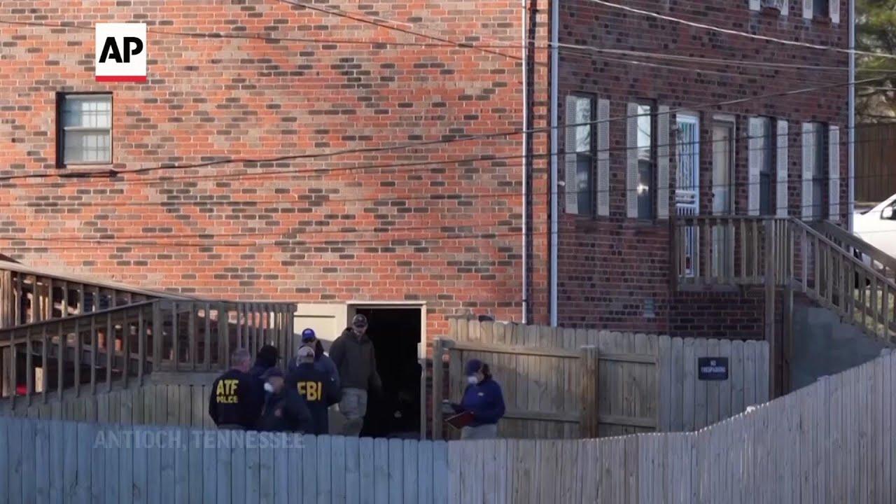 FBI search home in Nashville blast investigation