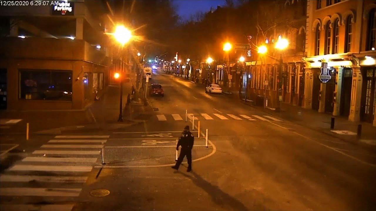 Investigators: Bomber died in Nashville explosion