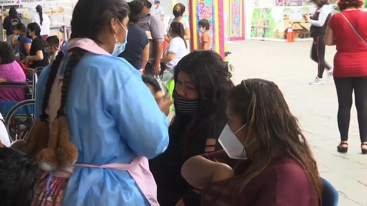 Peruvians seek health, a better 2021 at Wish Fair
