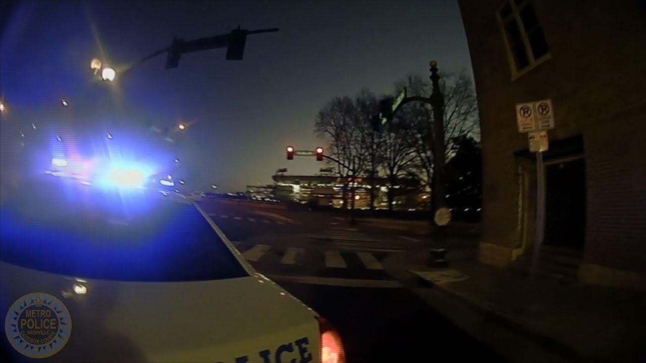 Nashville police release bodycam video of blast