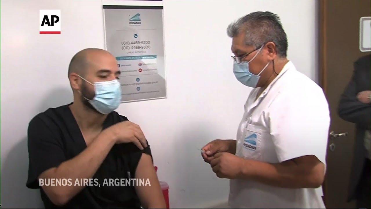 Argentina, Belarus usan vacuna rusa Sputnik V