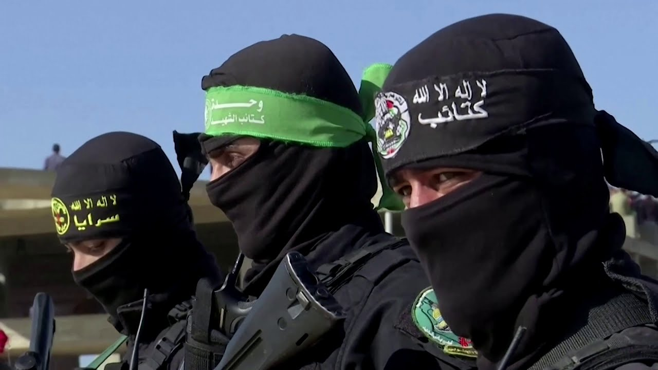 Gaza militants conduct first joint exercise