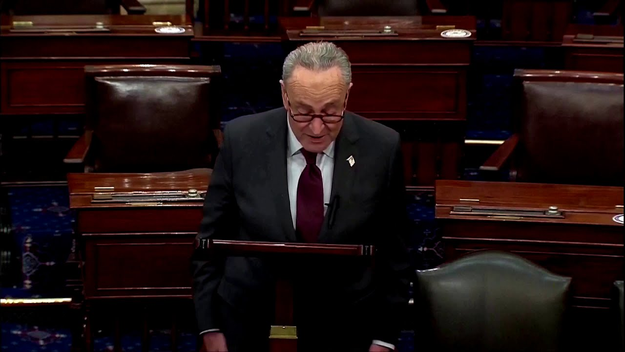 Schumer pushes for $2000 checks; McConnell objects