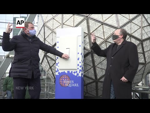 Times Square crystal ball tested ahead of NYE