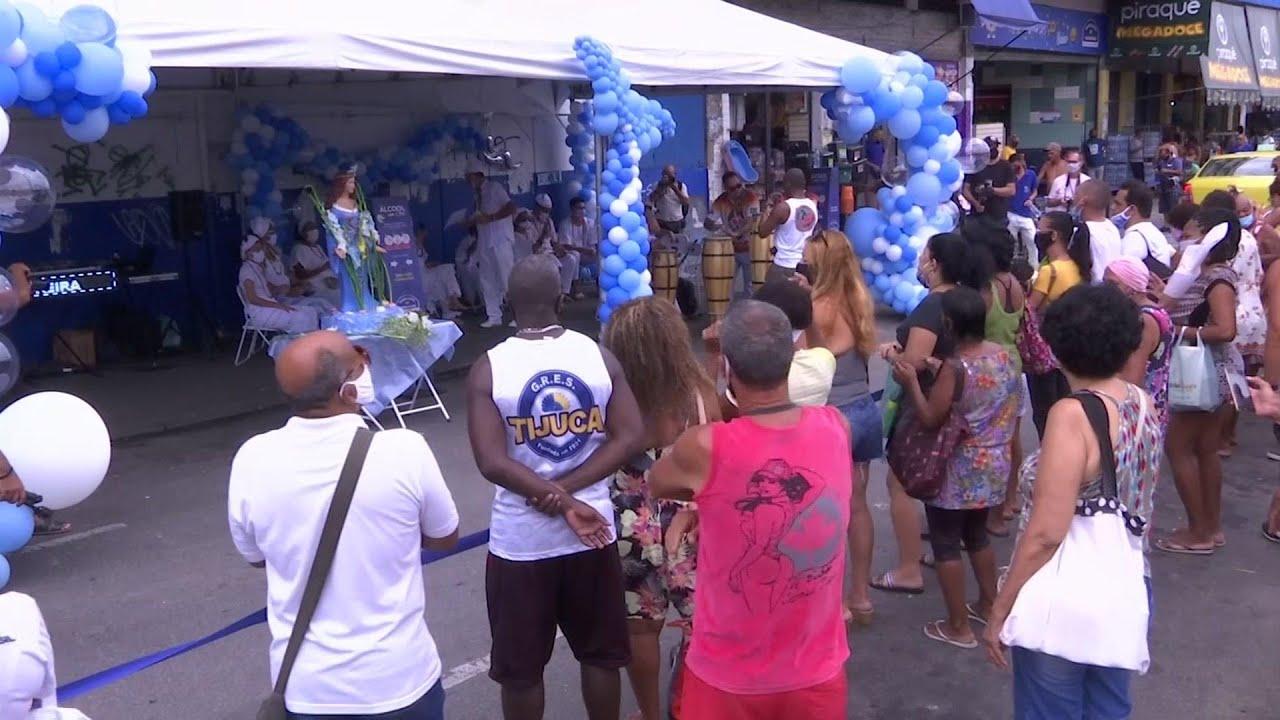 Pandemic overshadows Rio's Sea Goddess ceremony