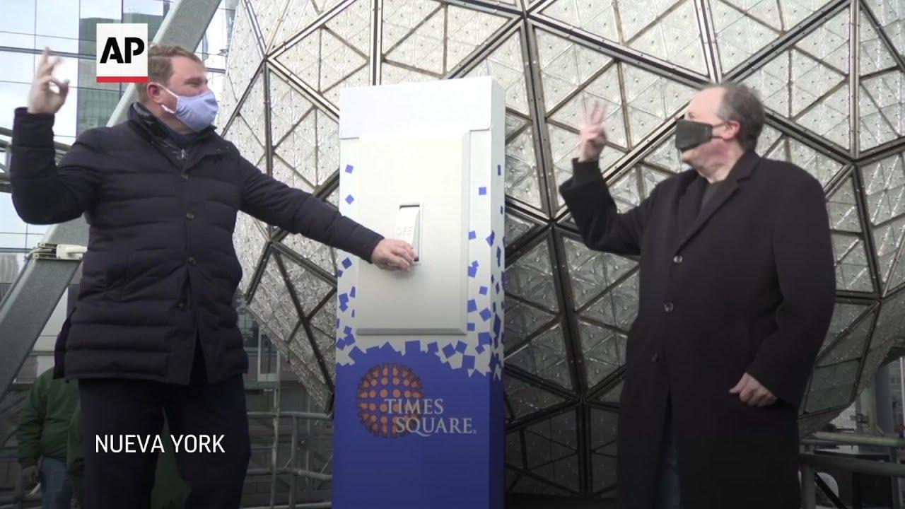 Esfera de Nueva York lista para despedir año nuevo