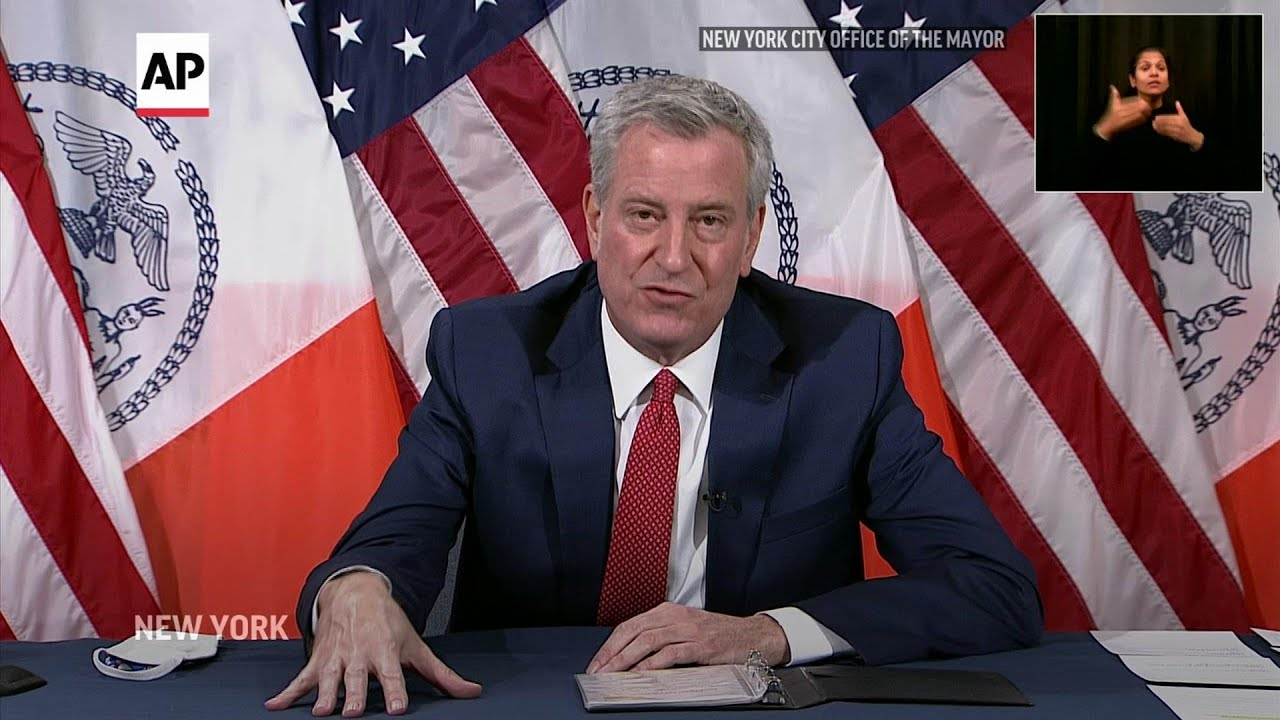 Mayor: NYC will vaccinate 1 million in city in January