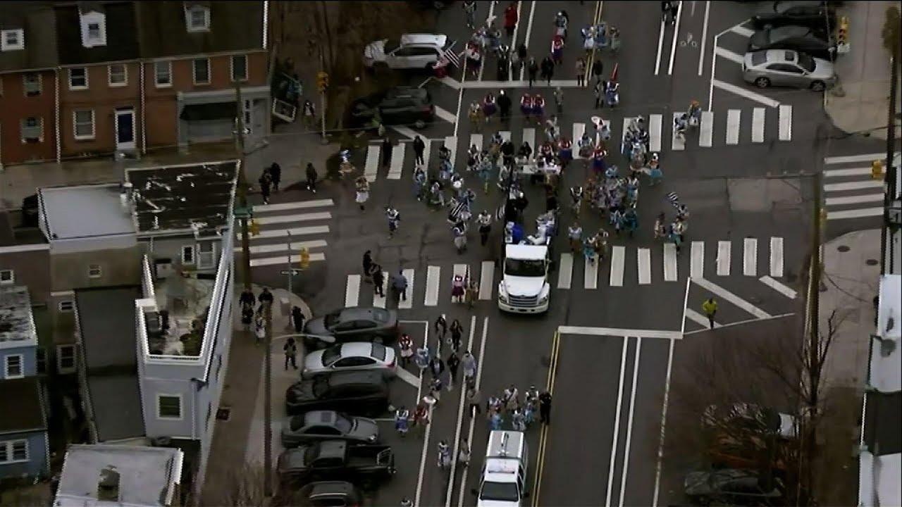 Mummers strut despite Philly parade cancellation