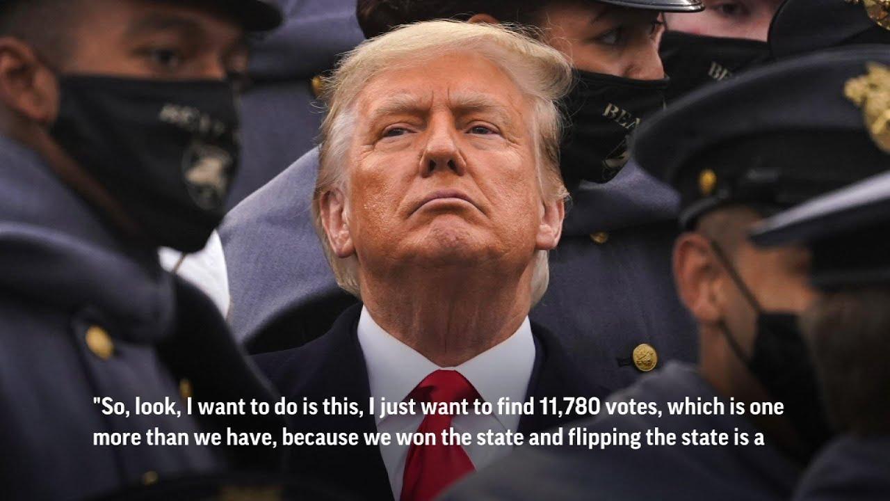 Trump to Ga. election chief: 'find 11,780 votes'