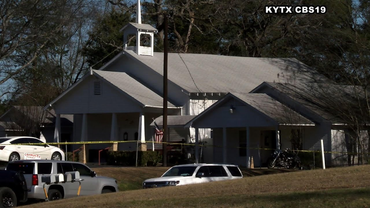 Man arrested in Texas church shooting