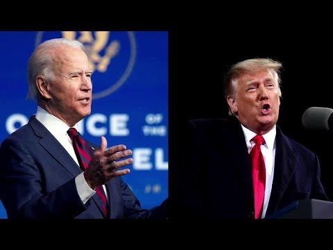 Trump, Biden descend on Georgia ahead of runoffs