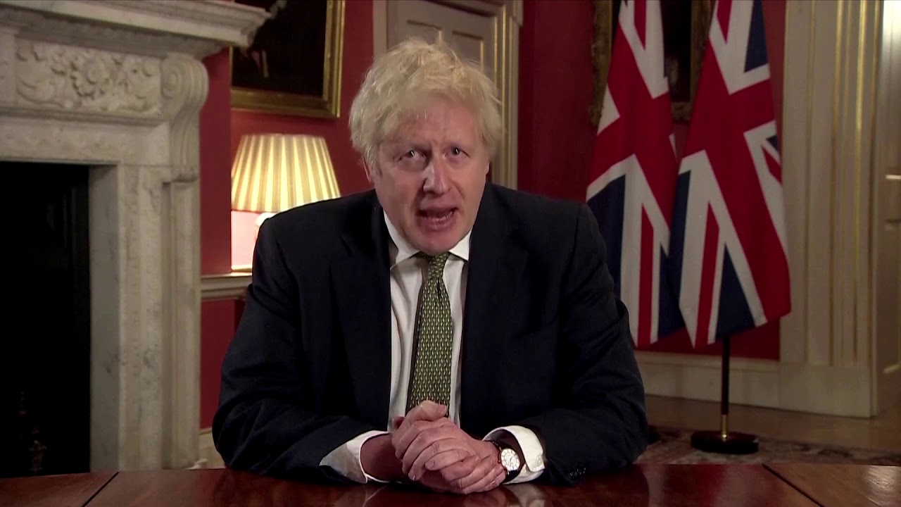 Boris Johnson orders new national lockdown in England
