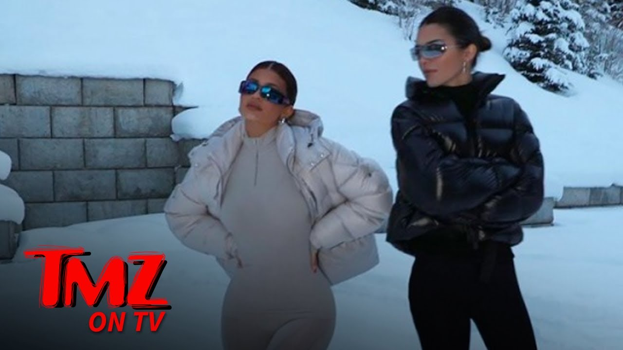 Kylie, Kendall & Kris Jenner's Aspen Rental Was A Winter Wonderland | TMZ TV