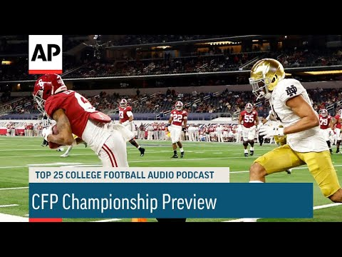 CFP Championship Preview With Chris Fowler | AP Top 25 Podcast