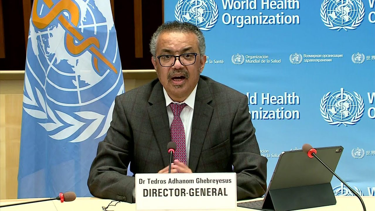 Tedros on virus battle: These are the hard miles