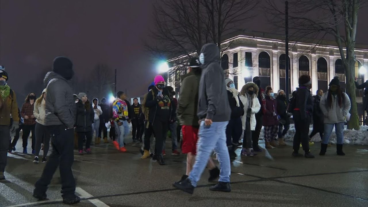 Protesters rally in Kenosha after Blake decision