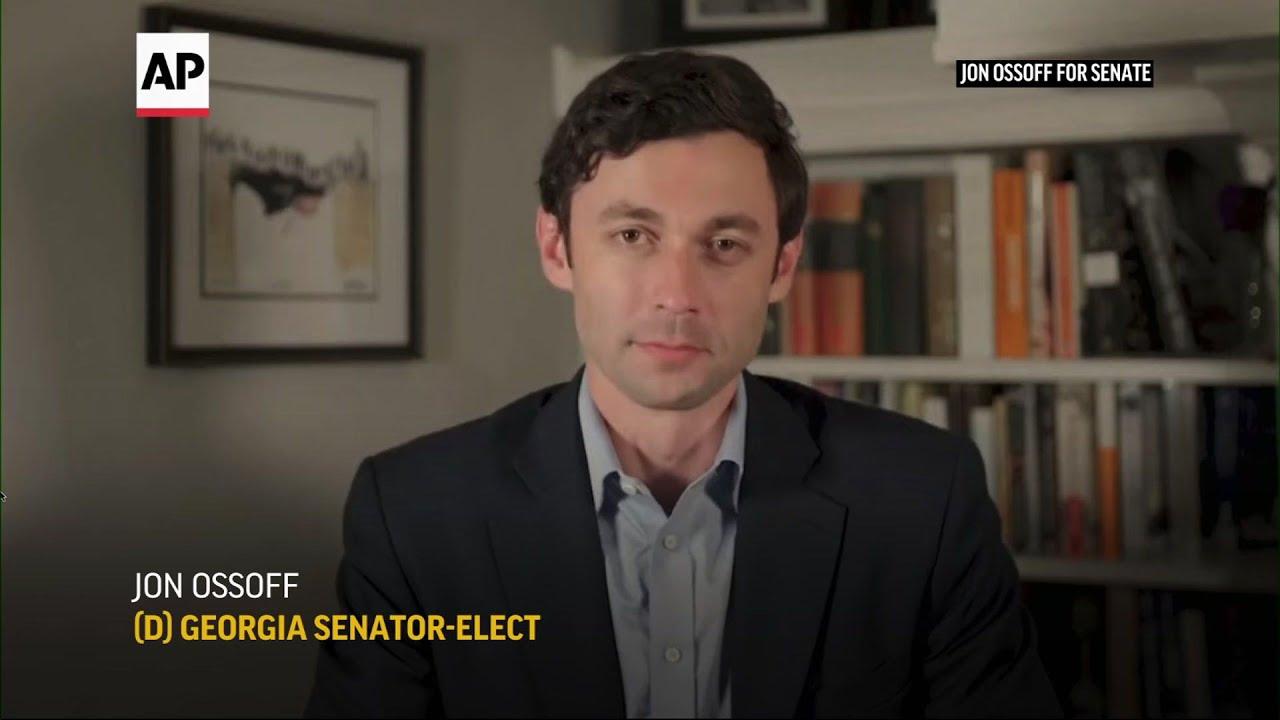 Jon Ossoff wins, handing Dems Senate control