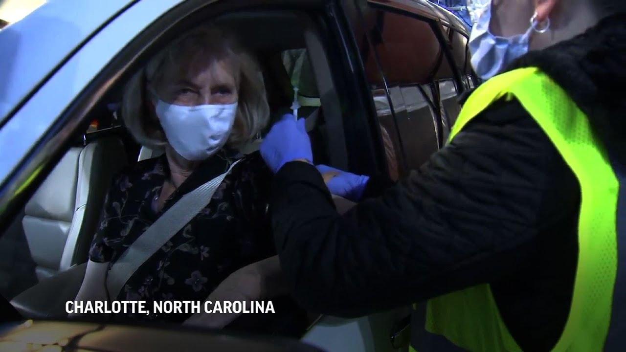 Public vaccine rollout begins in North Carolina