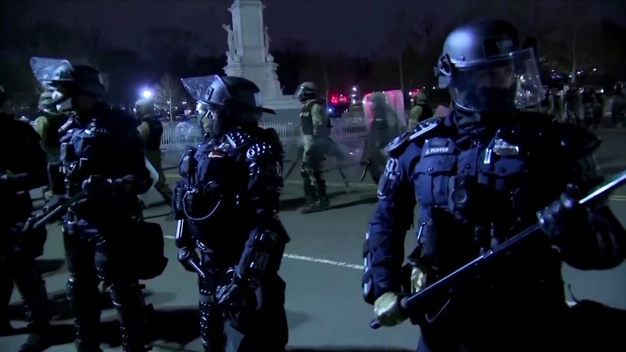National Guard deployed at U.S. Capitol