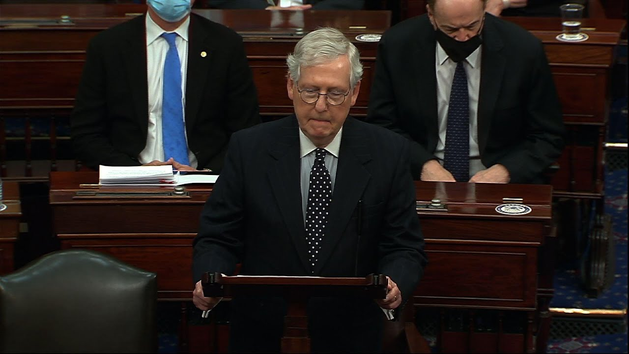 McConnell: our democracy will not be deterred