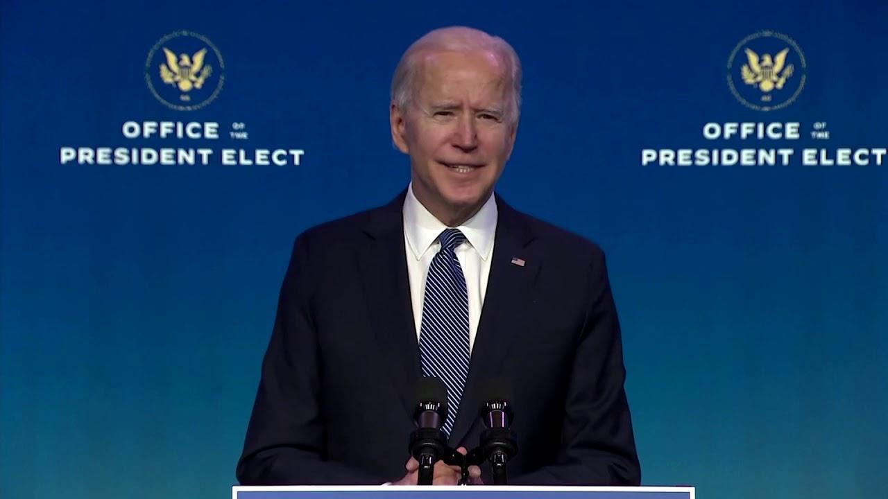 Biden condemns 'domestic terrorist' attack on U.S. Capitol
