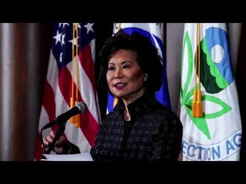 Transportation Secretary resigns from Trump cabinet
