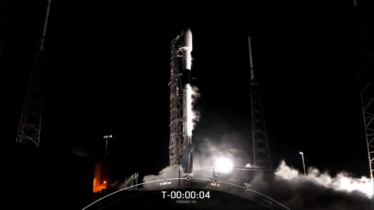 SpaceX launches Turkish communications satellite