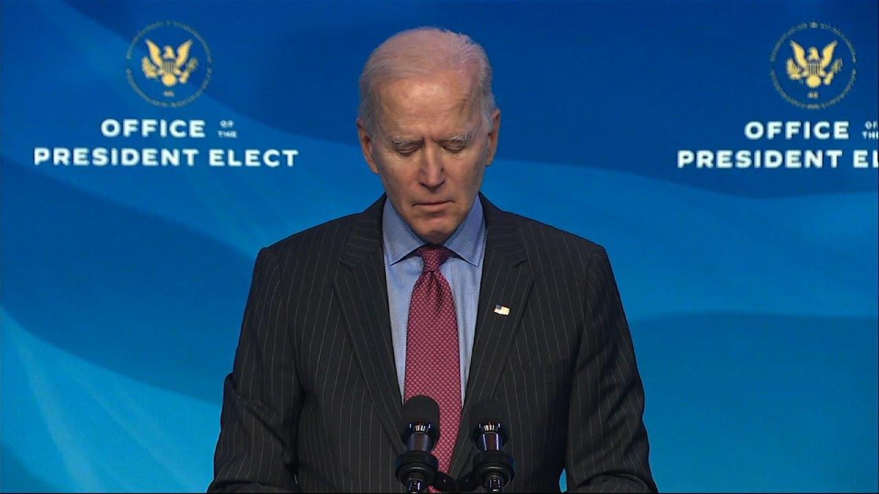 Biden: Up to Congress on 2nd Trump impeachment